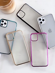 cheap -Case For Apple iPhone 11 / iPhone 11 Pro / iPhone 11 Pro Max Ultra-thin / Frosted Back Cover Solid Colored TPU