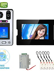 cheap -MOUNTAINONE SY813WGLB11 WIFI / Wireless Built in out Speaker 7 inch Hands-free 1080 Pixel One to One video doorphone