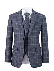 Недорогие -серый шерстяной костюм на заказ