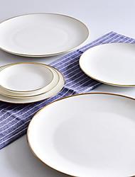 cheap -1-Piece Dinner Plate Dinnerware Earthenware New Design Cool