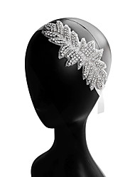 cheap -Cubic Zirconia / Alloy Headbands with Rhinestone / Crystals / Lace-up 1pc Wedding / Party / Evening Headpiece