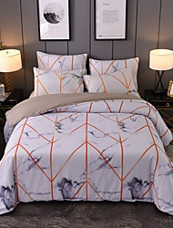 cheap -Duvet Cover Sets Lines / Waves Polyester / Polyamide Printed 1 PieceBedding Sets
