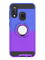 cheap -Case For Huawei Huawei P Smart 2019 / Huawei P Smart Plus 2019 / Honor 10 Lite Ring Holder / Translucent Back Cover Solid Colored TPU