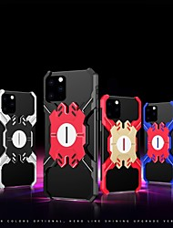 cheap -Case For iPhone 11 / iPhone 11 Pro / iPhone 11 Pro Max Shockproof / with Stand / Ultra-thin Back Cover Armor Aluminum Alloy Case For iPhone XS Max /XR/XS/X/ iPhone 8 Plus/ iPhone 7 Plus/ iPhone 6 Plus