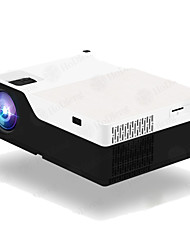 cheap -HoDieng HD18 1920x1080P Android 9.0 WIFI Support AC3 4K 200inch Full HD 1080P LED Projector Video Proyector for Home Theater 5500lumen M18