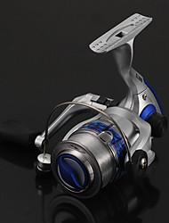 abordables -Reel Fishing Roulement Moulinet spinnerbait 5.5:1 Braquet+9 Roulements à billes Orientation à la main Echangeable Pêche d'eau douce / Pêche au leurre / Pêche générale - Lj4000