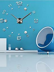"cheap -Wall Clock,Fashion DIY Acrylic Round Indoor 70*140cm(28""*55"")"