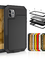 cheap -Case For Apple iPhone 11 / iPhone 11 Pro / iPhone 11 Pro Max Shockproof Full Body Cases Tile Metal