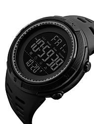 Недорогие -SKMEI Смарт Часы Цифровой Современный Спортивные силиконовый 30 m Защита от влаги Повседневные часы Cool Аналоговый На каждый день Мода - Черный Черный / Синий Черный / Красный