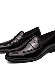 abordables -Homme Chaussures Formal Cuir / Cuir Verni Printemps été / Automne hiver Business / Simple Mocassins et Chaussons+D6148 Golf Shoes Chaud Noir / Bleu / Mariage / Soirée & Evénement
