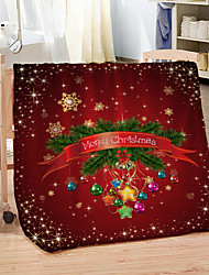 cheap -3D Digital Printing Flannel Fleece Blanket 100% Polyester Soft Bed Throw Blankets for Winter
