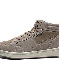 cheap -Men's Suede Shoes Suede Winter Sneakers Black / Blue / Khaki / Comfort Shoes