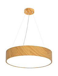 cheap -1-Light MAISHANG® 40 cm Pendant Light Wood / Bamboo Acrylic Modern / Nordic Style 110-120V / 220-240V
