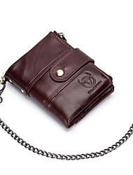 Недорогие -(bullcaptain) мужской кожаный короткий вертикальный кошелек ретро портмоне для вождения документ многофункциональный слот для карт памяти