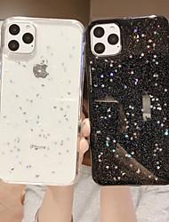 cheap -Phone Case For Apple Back Cover iPhone 12 Pro Max 11 SE 2020 X XR XS Max 8 7 Glitter Shine Glitter Shine TPU