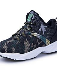abordables -Garçon Confort Maille Chaussures d'Athlétisme Grands enfants (7 ans et +) Course à Pied Blanche / Vert / Rouge Automne / Camouflage