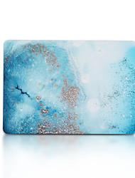 ieftine -carcasă macbook plastic din marmură / tpu pentru noua macbook pro 15 inch / nou macbook pro 13 inch / new air macbook 13 2018