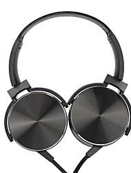 abordables -LITBest XB450 Casque sur l'oreille Câblé Téléphone portable Stereo