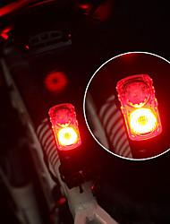 Недорогие -Светодиодная лампа Велосипедные фары Задняя подсветка на велосипед LED Велоспорт Велоспорт Быстросъемный Легкость Литий-полимерная 120 lm Перезаряжаемая батарея Красный Разные цвета / Поворот на 360°