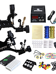 cheap -Solong Tattoo Professional Tattoo Kit Tattoo Machine - 2 pcs Tattoo Machines, Professional LCD power supply 2 alloy machine liner & shader