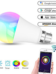 cheap -WiFi Smart Light Bulb switch Dimmable Multicolor Wake-Up Lights No Hub Required Compatible with Alexa/google Home