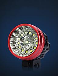 Недорогие -Светодиодная лампа Велосипедные фары Подсветка Передняя фара для велосипеда Велоспорт Велоспорт Водонепроницаемый Портативные Прочный Перезаряжаемая батарея Литиевая батарея 500 lm / IPX 6