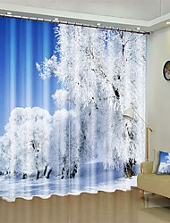 cheap -Cedar Digital Printing 3D Curtain Shading Curtain High Precision Black Silk Fabric High Quality Curtain