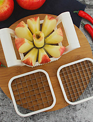 cheap -1pcs 3 In 1 Stainless Steel Shredders Potato Chips Apple Pear French Fries Cutter Kitchen Gadgets Vegetable Fruit Cutter Accessories