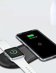 cheap -Wireless Charger USB Charger USB Qi 1 USB Port 3 A DC 5V for Apple Watch Series 4 / Apple Watch Series 4/3/2/1 / Apple Watch Series 3 Apple