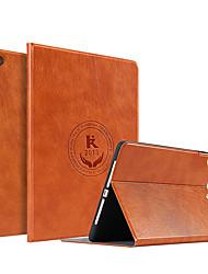 cheap -Case For Apple iPad Air / iPad 4/3/2 / iPad Mini 3/2/1 Shockproof / Dustproof / Ultra-thin Full Body Cases Word / Phrase PU Leather / TPU