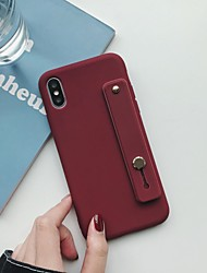 cheap -Case For Apple iPhone 11 / iPhone 11 Pro / iPhone 11 Pro Max with Stand Back Cover Solid Colored TPU
