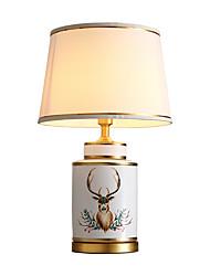 Недорогие -Настольная лампа Новый дизайн Художественный / Современный современный Назначение Спальня / Девочки Фарфор 220 Вольт Красный / Зеленый