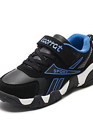 abordables -Garçon Confort Polyuréthane Chaussures d'Athlétisme Grands enfants (7 ans et +) Marche Blanche / Dorée / Bleu Automne
