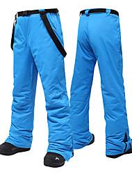 cheap -MUTUSNOW Men's Ski / Snow Pants Skiing Snowboarding Winter Sports Waterproof Windproof Warm Polyester Pants / Trousers Ski Wear