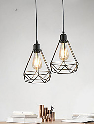 cheap -1-Light 20 cm Mini Style Pendant Light Hemp Rope Painted Finishes Traditional / Classic / Nordic Style 220-240V