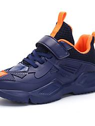 Недорогие -Мальчики Удобная обувь Полиуретан Спортивная обувь Большие дети (7 лет +) Красный / Синий / Темно-синий Осень