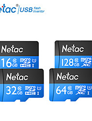 abordables -netac tf carte 32gb micro sd card sdxc c10 mini carte mémoire 64gb 16gb sdhc sdxc uhs-i u1 appareil photo de classe 10 80mb / s