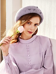 cheap -Wool Hats with Crystals / Rhinestones 1pc Casual / Daily Wear Headpiece
