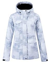 cheap -Women's Ski Jacket Skiing Snowboarding Winter Sports Waterproof Warm Breathability POLY Winter Jacket Top Ski Wear