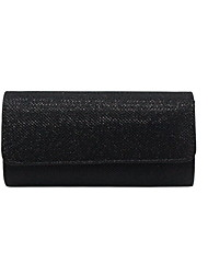 cheap -Women's Nylon Evening Bag Solid Color Black / Almond / Gold