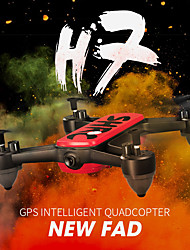 cheap -RC Drone SHR / C H7 GPS 4K RTF 4CH 6 Axis 2.4G 4K 4096*2160P RC Quadcopter Auto-Takeoff / Headless Mode / Access Real-Time Footage RC Quadcopter / Remote Controller / Transmmitter / 1 USB Cable Lead