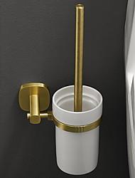 cheap -Toilet Brush Holder New Design / Cool Modern Aluminum 1pc Wall Mounted