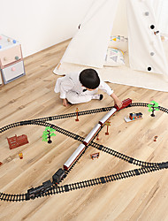 cheap -Toy Trains & Train Sets Train Train Glow Simulation Exquisite Plastic & Metal Kids All Boys' Girls' Toy Gift 1 pcs