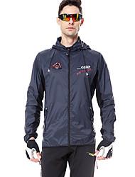 cheap -Mountainpeak Men's Cycling Jacket Bike Windbreaker Waterproof Breathable Sports Black Mountain Bike MTB Road Bike Cycling Clothing Apparel Standard Fit Bike Wear