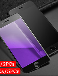 cheap -1PC/2PCs/3PCs/5PCs Full Coverage Screen Printing Violet Eye Protection Iphone 6 7 8 P Tempered Glass Screen