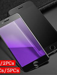 Недорогие -1 шт. / 2 шт. / 3 шт. / 5 шт. Полное покрытие экрана печати фиолетовый защиты глаз iphone 6 7 8 p закаленное стекло экрана
