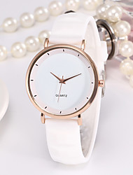 cheap -Women's Quartz Watches Analog Quartz Fashion Casual Watch / One Year / Stainless Steel / Silicone