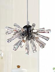 cheap -6-Light Crystal / Globe / Mini Pendant Light Downlight Electroplated Metal Adjustable, New Design 110-120V / 220-240V Warm White
