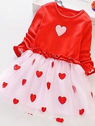 cheap -Kids Girls' Heart Dress Blushing Pink