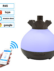 cheap -400ml WIFI Aroma Air Humidifier Essential Oil Diffuser Aromatherapy Electric Ultrasonic cool Mist Maker for Home Remote Control support google,amazon alexa,tuya